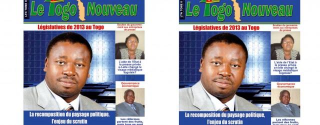 Le parlement togolais va être renouvelé durant l'année 2013, le mandat de la présente législature arrive à son terme. Les élections législatives auront probablement lieu en même temps que les...