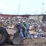 Centre de collecte des ordures
